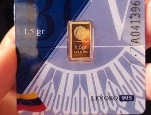 como ahorrar oro venezuela